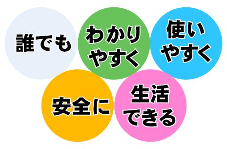ユニバーサルデザインイメージ